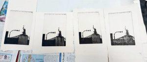 نسخههای چاپ شدهی آزمایشی یک کلیشه